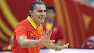 Sergio Scariolo , seleccionador español de baloncesto