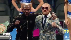 Mayweather gana a McGregor por nocáut técnico en décimo asalto