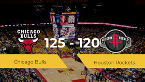 Triunfo de Chicago Bulls ante Houston Rockets por 125-120