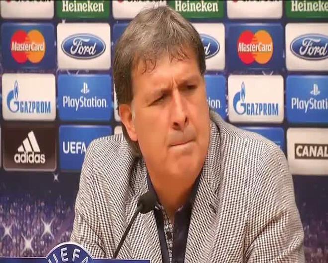 Tata Martino: Seguimos trabajando para poder seguir mejorando