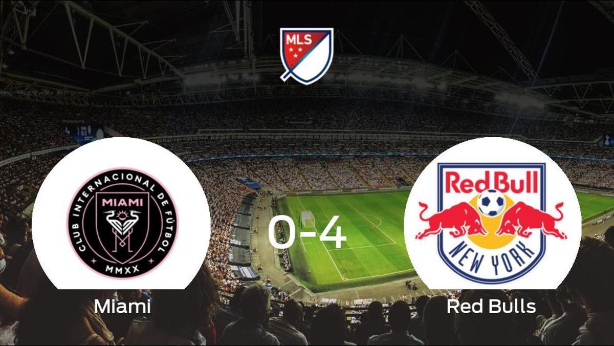 El New York Red Bulls le arrebata los tres puntos al Inter de Miami (0-4)