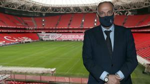 Tebas cree que hay que procurar mejores finales a figuras como Maradona