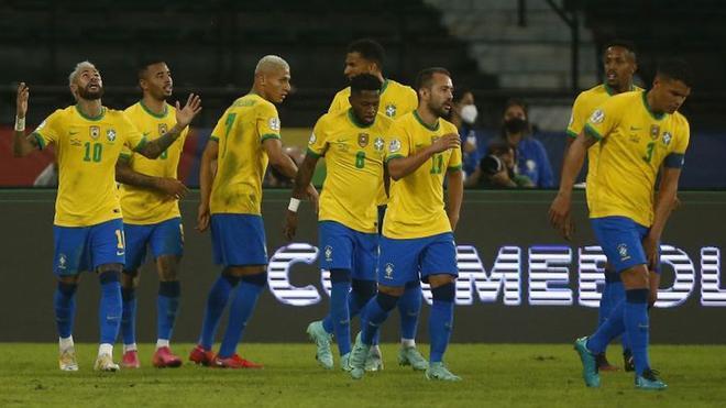 Luego de golear tanto a Venezuela como a Perú, Brasil busca repetir el resultado con Colombia