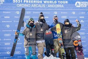 Éxito del Freeride World Tour en los Pirineos Andorranos