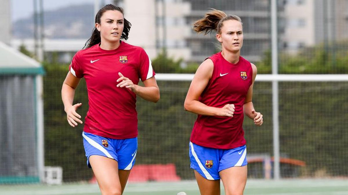 El Barça Femenino ha vuelto a los entrenamientos