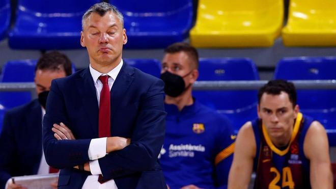 Jasikevicius, decepcionado con la derrota ante el Zenit