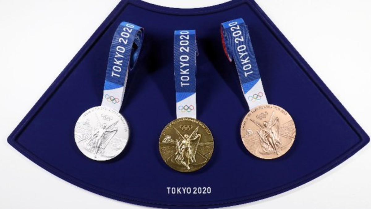 Las medallas de los Juegos Olímpicos de Tokio
