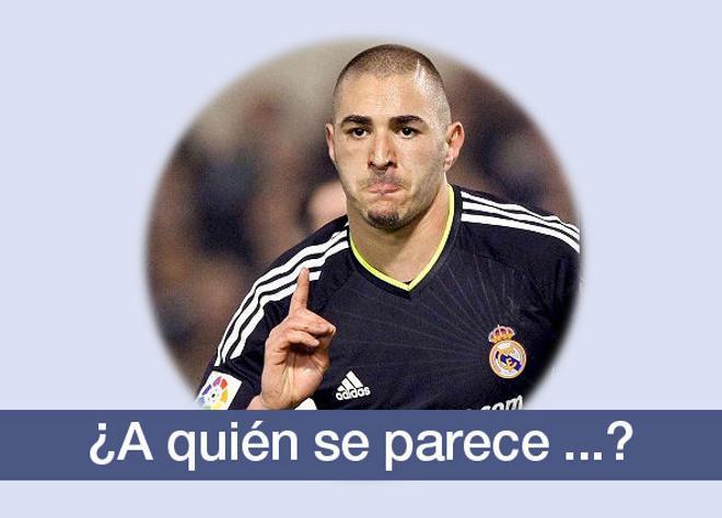 Benzemá, jugador del Real Madrid