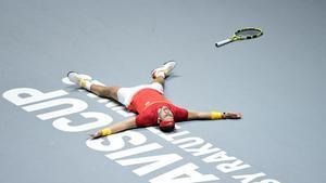 Nadal ganó el punto decisivo