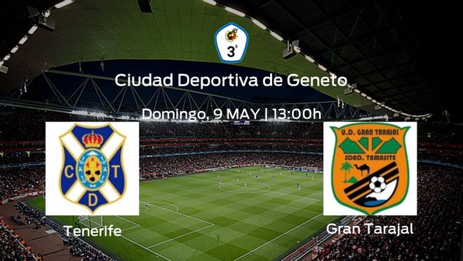 Jornada 2 de la Segunda Fase de Tercera División: previa del duelo Tenerife B - Gran Tarajal