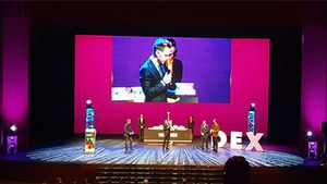 Rakitic habló en la gala de los Premios de El Desmarque