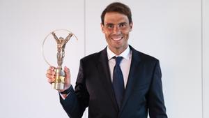 Nadal, premio Laureus al mejor deportista del año