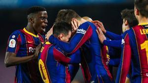 Messi y Piqué, un abrazo que lo dice todo