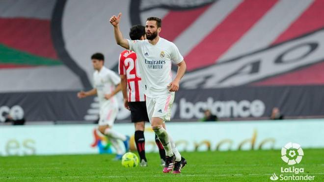 Nacho marcó el gol de la victoria ante el Athletic