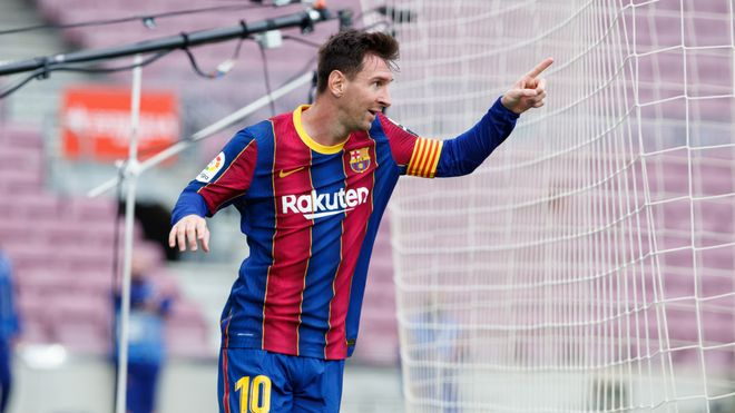 Los números de Messi