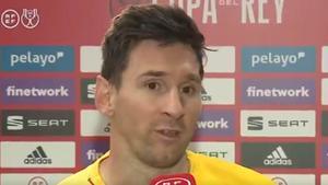 Messi: Es muy especial ser capitán de este club