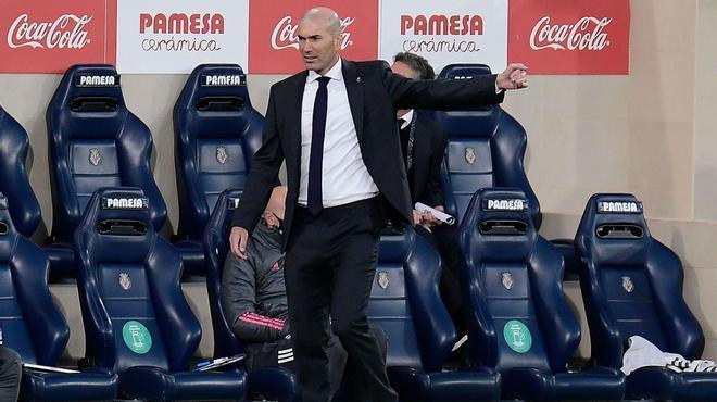Zidane: Me molestó por el esfuerzo que hicieron los chicos