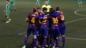 El Barça B terminó el año con triunfo en Cornellà y busca seguir la racha