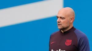 Ramon de la Fuente, entrenador de porteros del FC Barcelona