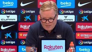 ¡Ronald no se calla! Los tres minutos que pueden marcar un antes y un después en el futuro del Barça