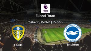 Previa del partido: el Leeds United recibe al Brighton and Hove Albion