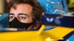 Alonso, centrado en su regreso a la F1