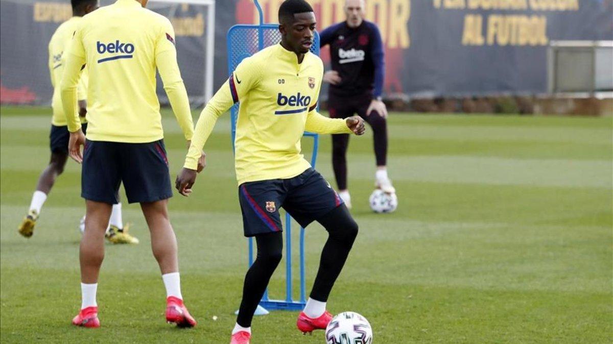 El Barça podría decidir vender a Dembélé
