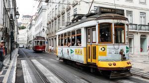 Lisboa, vacía por la Champions