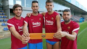 Los capitanes del Barça están negociando con el club