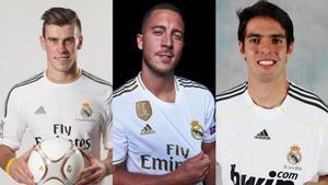 Despegar o no despegar: Kaká, Bale, Hazard
