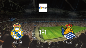 Frustrated Real Madrid share points with Real Sociedad after 1-1 draw