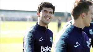 Carles Aleña ha sido convocado por el primer equipo