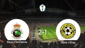 El Rayo Cantabria gana en casa al Siete Villas por 2-1