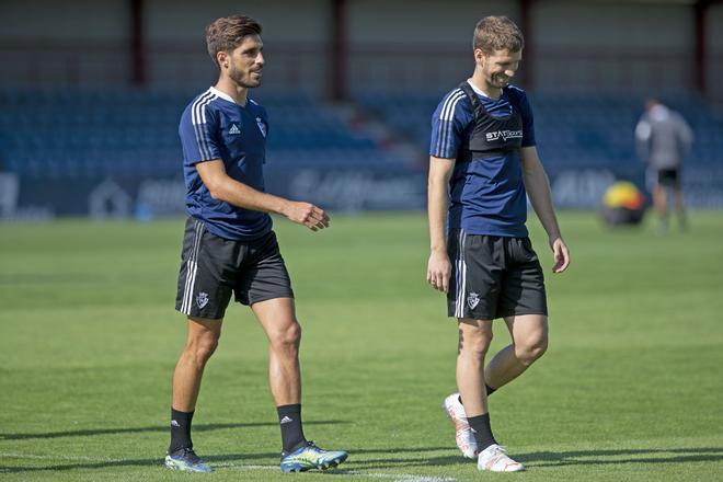 Suspendido el amistoso de Osasuna por positivos en el Valladolid
