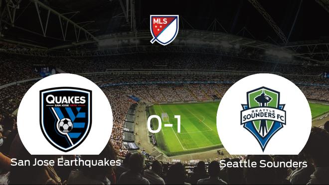 El Seattle Sounders complica el liderato al San Jose Earthquakes (0-1)