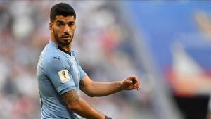 Luis Suárez no jugará con Uruguay en los próximos dos amistosos