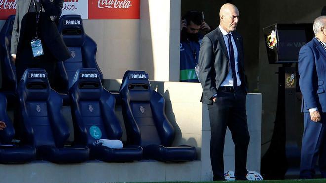 Zidane: Vosotros seguid con lo que estáis haciendo y yo, con mi trabajo