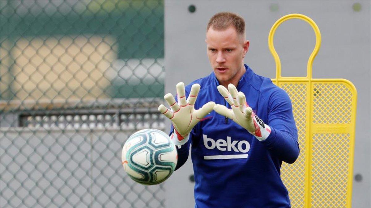 En el Barça confían que Ter Stegen diga sí a la renovación