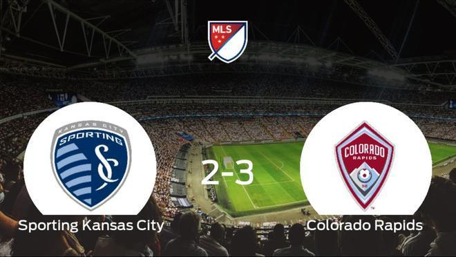 El Colorado Rapids se queda con los tres puntos tras vencer 2-3 al Sporting Kansas City