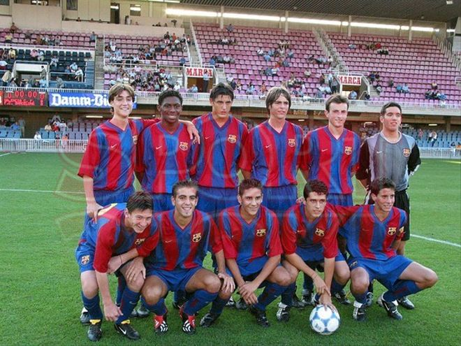 7.Leo Messi 2002-2003