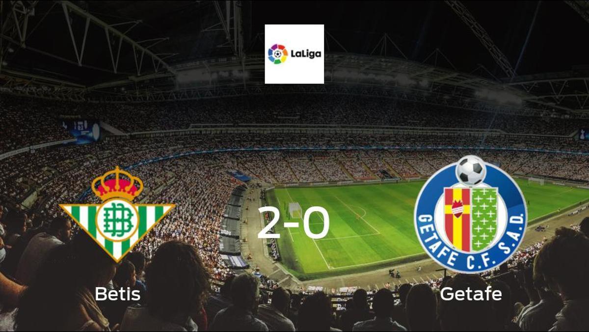 Win for Betis at the Estadio Benito Villamarin, as they beat Getafe 2-0