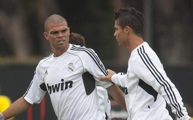 Pepe en el Real Madrid