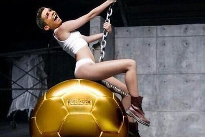El Balón de Oro 2013, en clave de humor