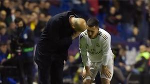 Zidane: Queremos que sea el año de Hazard