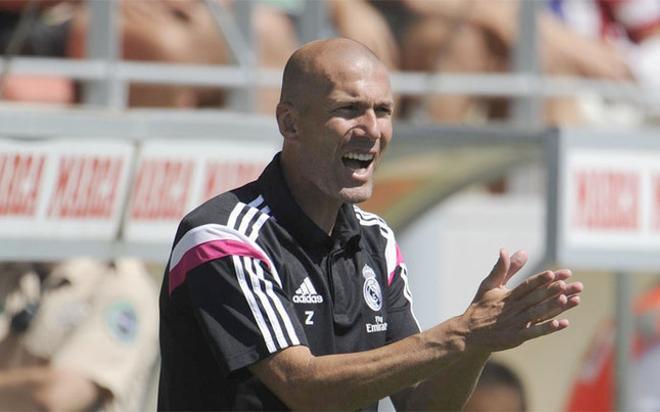 Zidane justificó que su hijo sea uno de los jugadores con más minutos en el Castilla