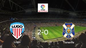 Tres puntos para el equipo local: Lugo 2-0 Tenerife