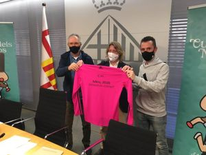 La 22ª edición de la Cursa dels Nassos ha sido presentada en el Ajuntament de Barcelona