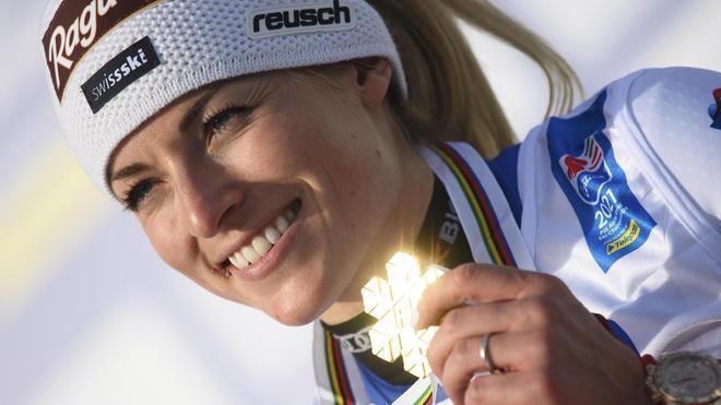 Lara Gut-Behrami, en una imagen de archivo