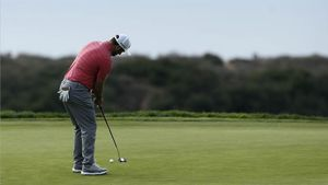 Rahm, en el Farmers Insurance Open