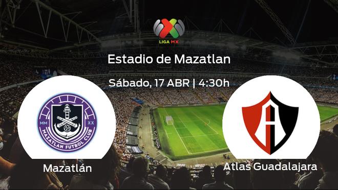 Previa del partido: el Mazatlán recibe en su feudo al Atlas Guadalajara